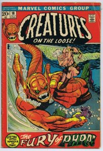 Creatures on the Loose #18 ORIGINAL Vintage 1972 Marvel Comics
