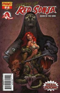 Sword of Red Sonja: Doom of the Gods #2C VF/NM; Dynamite | save on shipping - de