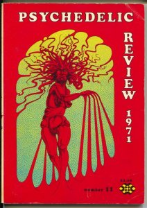 Psychedelic Review #11 1971-underground comix-Timothy Leary-Lee Conklin-VG-