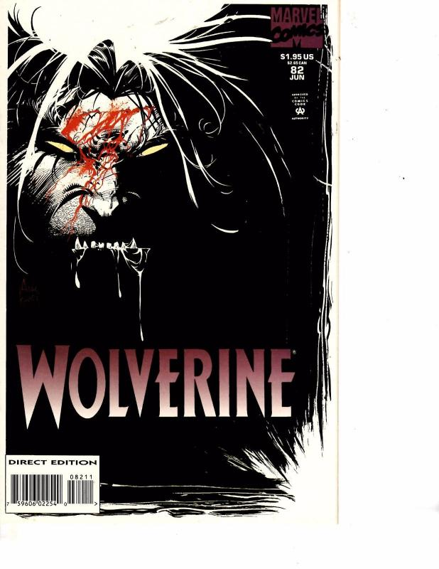 Lot Of 2 Marvel Comic Books Wolverine #82 and Deaths Head #4 ON3