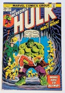 The Incredible Hulk #189 (Jul 1975, Marvel) VF+ 8.5 Mole Man appearance