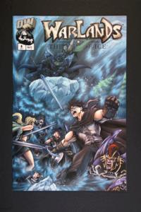 Warlands # 8 October 2002 Image Comics