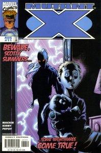Mutant X #11 (8-1999) - Havoc, X-Men, Elektra, Polaris, Rogue, Scotty Summers
