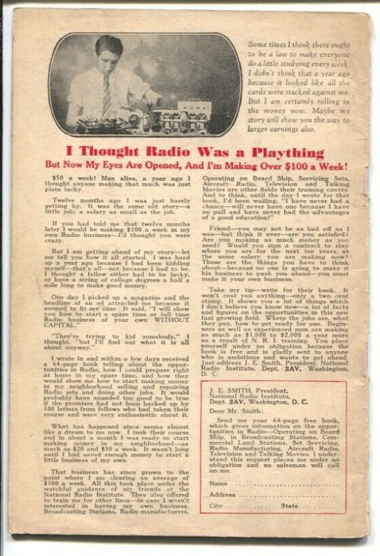 White's Radio Log-Spring 1932-list broadcasting stations-radio & TV-US-Canada...