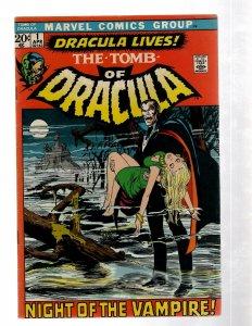 Tomb Of Dracula # 1 VF- Marvel Comic Book Horror Fear Scary Monster Vampire J460