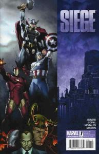Siege (Marvel) #1 VF/NM; Marvel | save on shipping - details inside