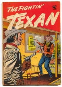Fightin' Texan #16 1952- 1st issue of title- Western VG