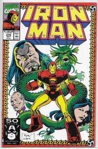 Iron Man   vol. 1  #270 VF/NM (Dragon Seed Saga 1)