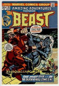 AMAZING ADVENTURES #16, FN/VF, Beast,X-Men, Juggernaut,  1970,