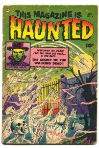 This Magazine Is Haunted #6  undead - terror-1952- Precode horror