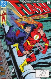 Flash (2nd Series) #61 VF; DC | save on shipping - details inside