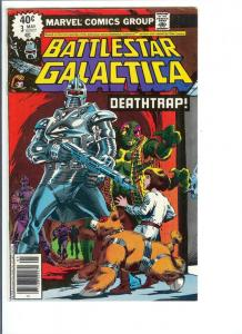 Battlestar Galactica #3 - Bronze Age - (VF/NM) May, 1979