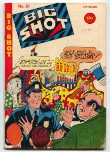 Big Shot Comics #81 1947-Charlie Chan- Skyman