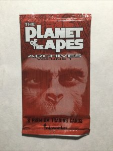 Planet Of The Apes Archives Volume 1 Single Pack Sealed Trading Cards Inkworks