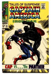 TALES OF SUSPENSE #98 1968 comic book Black Panther cover-Silver-Age VF-
