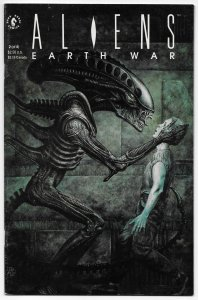 Aliens Earth War #2 (Dark Horse, 1990) FN/VF [ITC1106]