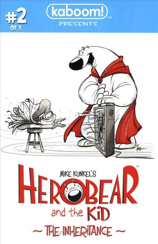 Herobear and The Kid: The Inheritance #2 VF/NM; Boom! | save on shipping - detai