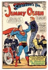 Superman's Pal Jimmy Olsen #91 1966- motorcycle gang VG