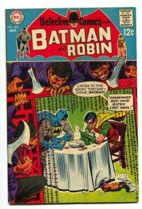 Detective Comics #383 1969-BATMAN ROBIN-CHINESE RESTAURANT VF
