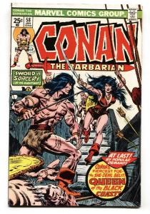 Conan The Barbarian #58 1976-  First appearance of Belit Marvel