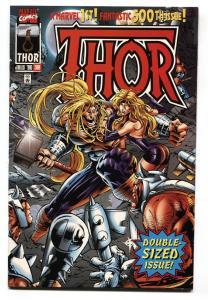 THOR #500-1996 Thor: Ragnarok movie issue-comic book