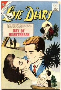 LOVE DIARY #19-GOOD GIRL ART-CHARLTON-1961-HEARTBREAK ROMANCE COVER