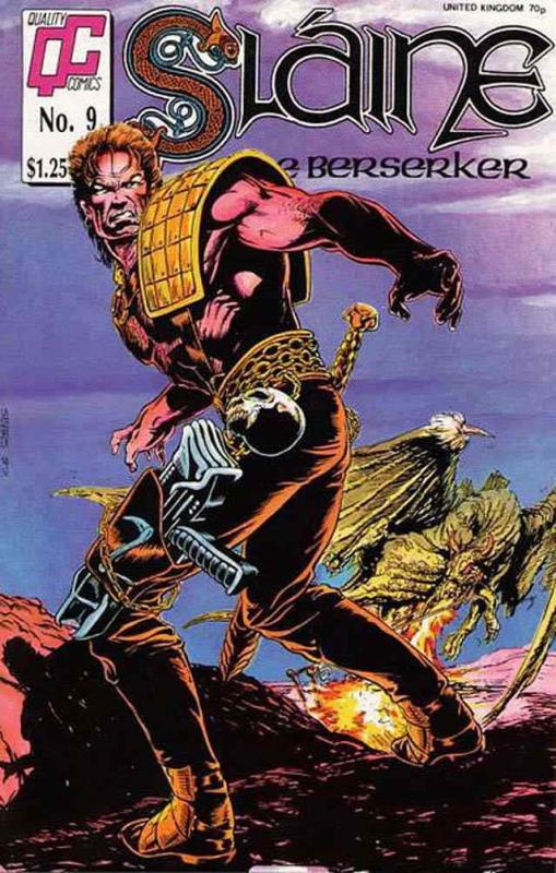 Sláine the Berserker #9 FN; Fleetway Quality | save on shipping - details inside