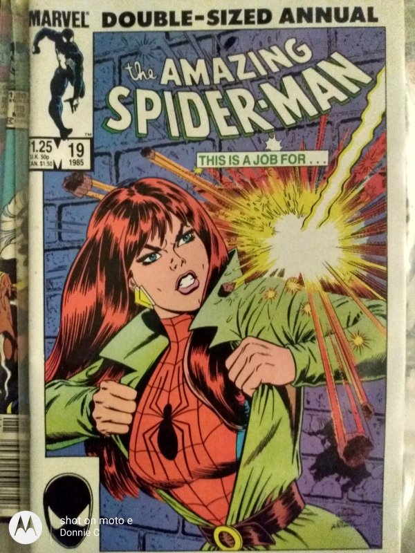 The Amazing Spider-Man Annual #19 (1985)7.5+