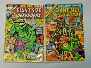Giant-Size Defenders #1 + #2 4.0 VG (1974)