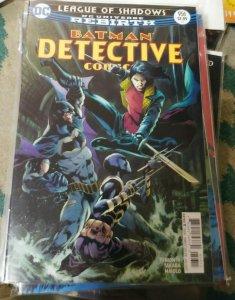 DETECTIVE COMICS  # 956 BATMAN  2017, DC T LEAGUE OF SHADOWS REBIRTH BAROWS VAR