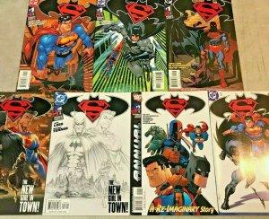 SUPERMAN BATMAN NM LOT OF 7 KEY ISSUES 2003 DC COMICS