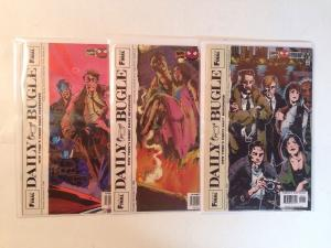 Daily Bugle 1-3 Complete Near Mint Lot Set Run