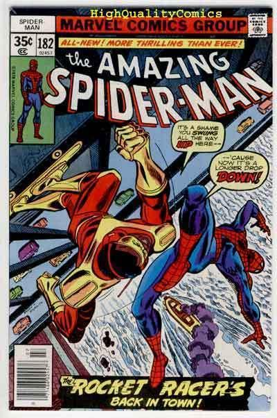 SPIDER-MAN #182, VF/NM, Wedding Proposal, Amazing,1963, more ASM in store
