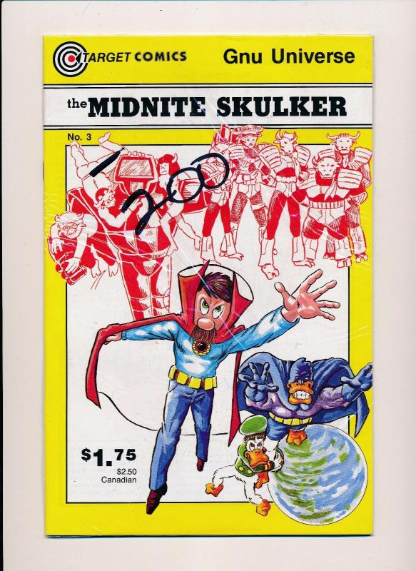 the MIDNITE SKULKER #1-4 (1,2,3,4) Target Comics 1986 ~ VF/NM (HX280)