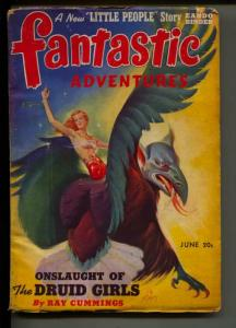 Fantastic Adventures-Pulp-6/1941-Ray Cummings-Eando Binder-Polton Cross