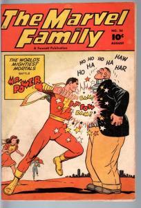 MARVEL FAMILY #26-1948-FAWCETT-CAPTAIN MARVEL-golden age comic-VG/FN VG/FN