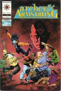 Archer & Armstrong (1992 series) #21, NM- (Stock photo)