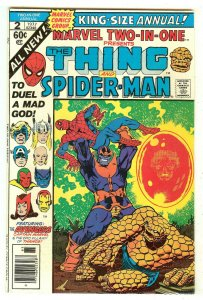 Marvel Two-In-One Annual 2   Thing & Spiderman   End of Thanos Saga