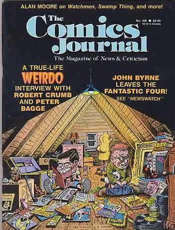 Comics Journal, The #106 FN; Fantagraphics | save on shipping - details inside