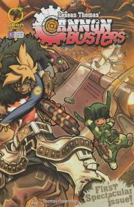 Cannon Busters #1A VF; Devil's Due | save on shipping - details inside