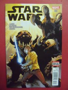STAR WARS #010 REGULAR  COVER NEAR MINT 9.4 MARVEL COMICS 2015 SERIES