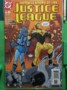 Justice League #6 of 6 Formerly known as the