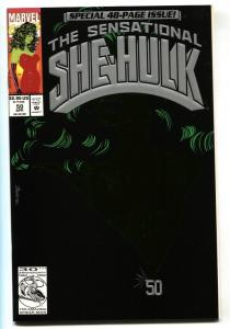 SENSATIONAL SHE-HULK #50 comic book-1993-Great cover