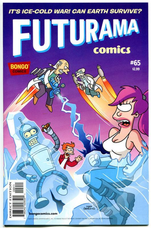 FUTURAMA #65, NM, Bongo ,Fry, Bender, Leela, Professor Farnsworth,more in store
