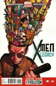 X-Men Legacy (2nd Series) #5 VF/NM; Marvel   save on shipping - details inside