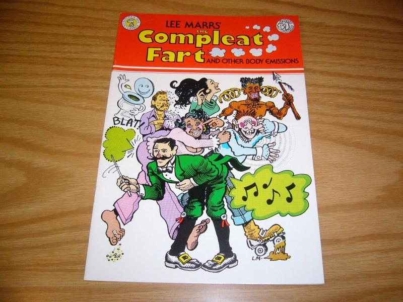 Lee Marr's the Compleat Fart #1 VF- kitchen sink underground comix 1976 rare