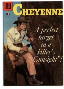 Cheyenne #4 1958- Dell Western- Clint Walker VF+
