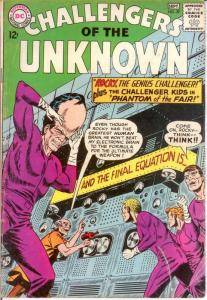 CHALLENGERS OF THE UNKNOWN 39 GOOD Sept. 1964 COMICS BOOK