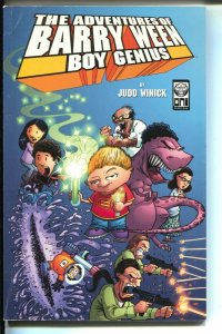 Adventures Of Barry Ween Boy Genius-Judd Winick-1999-PB-VG/FN