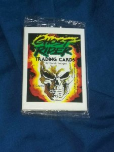Comic Image Vintage 5 Card Cello Packs Ghost Rider